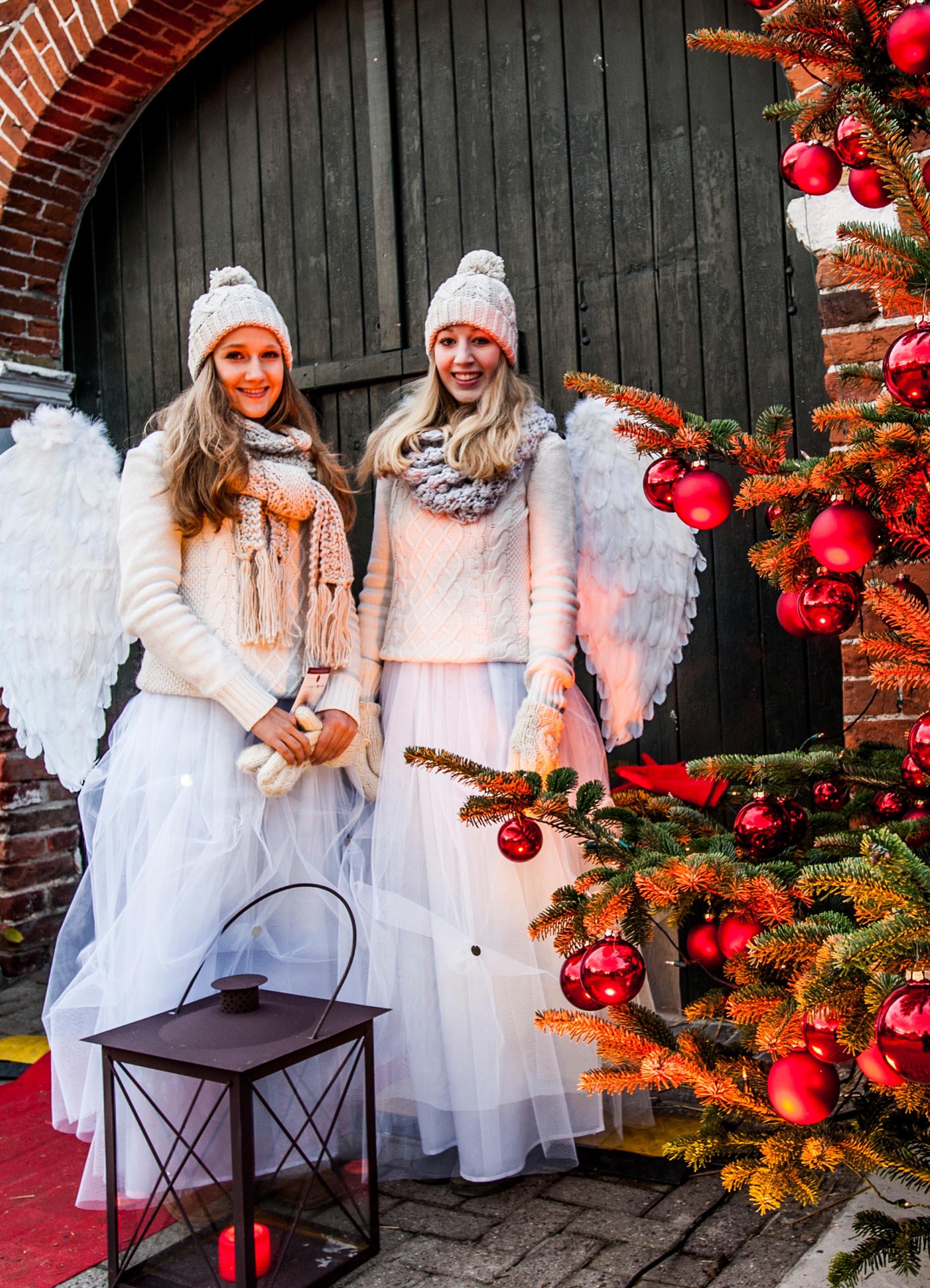 Die Engel der Lütetsburger Weihnacht